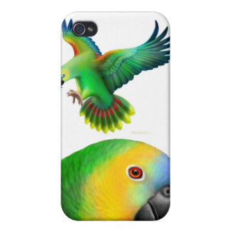 Blue Fronted Amazon Parrots Speck Case iPhone 4/4S Covers