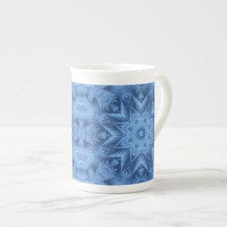 Blue Frost Bone China Mug Tea Cup