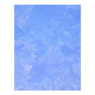 Blue Frost Letterhead