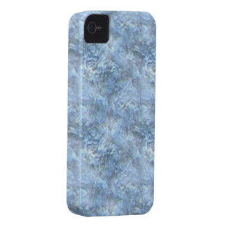 Blue Frosted Glass iPhone 4 Case