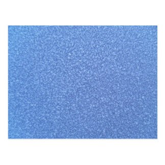 Blue Frozen Surface Ice Crystal Background Postcard