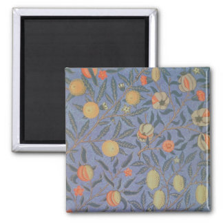 Blue Fruit' or 'Pomegranate' 2 Inch Square Magnet