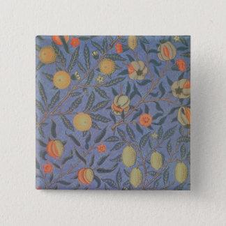 Blue Fruit' or 'Pomegranate' Pinback Button