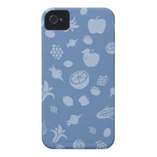 Blue fruity iPhone iPhone 4 Case-Mate Cases