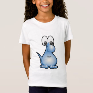 Blue funny monster animated creature T-Shirt