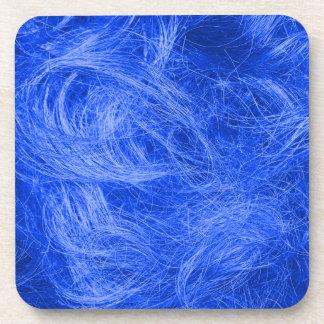 Blue Fur Beverage Coaster