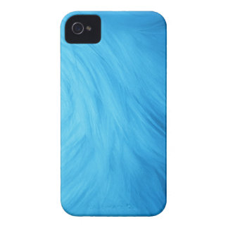 Blue Fur feathery image, iPhone 4/4s iPhone 4 Case
