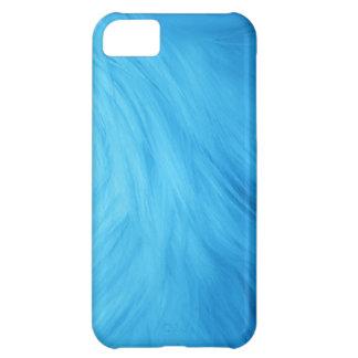 Blue Fur feathery image, iPhone 5 case