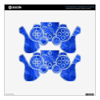 Blue Fur PS3 Controller Decal