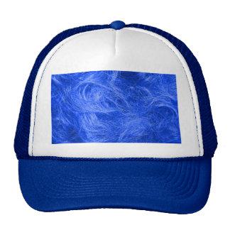 Blue Fur Trucker Hat