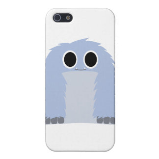 Blue Furry Monster iPhone SE/5/5s Cover
