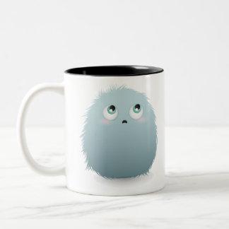 Blue Furry Mug