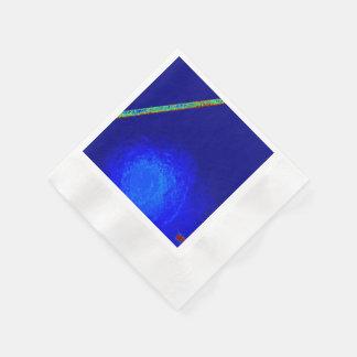 BLUE GAG BUG COCKTAIL PAPER NAPKINS