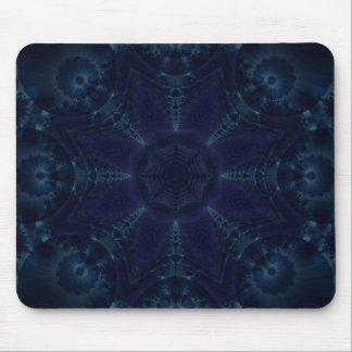 Blue Galaxy Mouse Pad