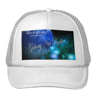 Blue Galaxy Net Radio Hat