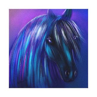 Blue Gallery Wrap Canvas
