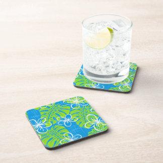 Blue Garden's edge Beverage Coaster
