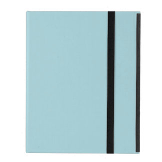 Blue Garter - Pale Baby Blue Uptown Girl Designer iPad Case