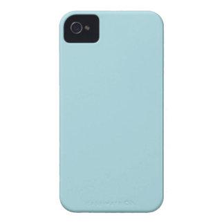 Blue Garter - Pale Baby Blue Uptown Girl Designer iPhone 4 Cover