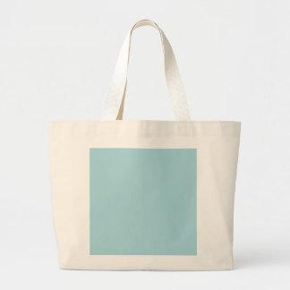 Blue Garter - Pale Baby Blue Uptown Girl Designer Large Tote Bag