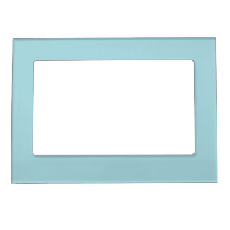 Blue Garter - Pale Baby Blue Uptown Girl Designer Magnetic Photo Frame