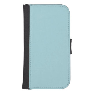 Blue Garter - Pale Baby Blue Uptown Girl Designer Phone Wallet