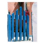 Blue gate Postcard