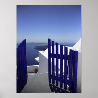 Blue gate poster