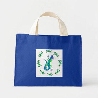 Blue Gecko Circle Bag