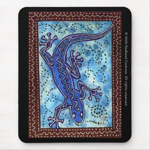 Blue Gecko Mousepad