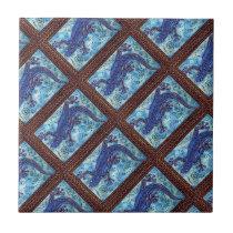 Blue Gecko Tile