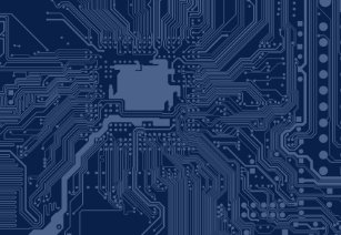 Geek business card holders cases zazzle blue geek motherboard circuit pattern desk business card holder colourmoves