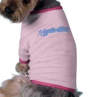 Blue Geekette Dog Tee Shirt