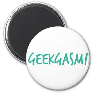 Blue Geekgasm Magnet