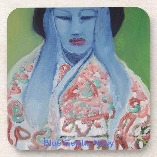 Blue Geisha NJoy Beverage Coaster
