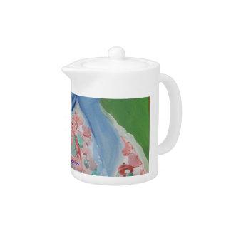 Blue Geisha Teapot