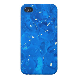 Blue Gel - iPhone 4 Case