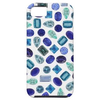 Blue Gems iPhone 5 Cas iPhone SE/5/5s Case