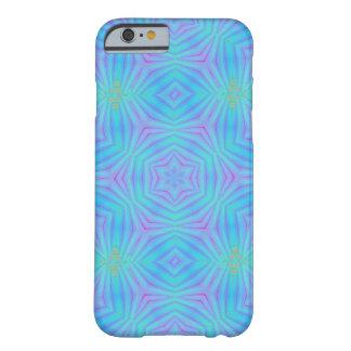 Blue Geometric Design iPhone 6 Case