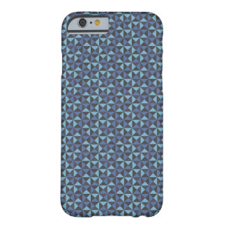 Blue Geometric Pattern Mate Barely There iPhone 6 Barely There iPhone 6 Case