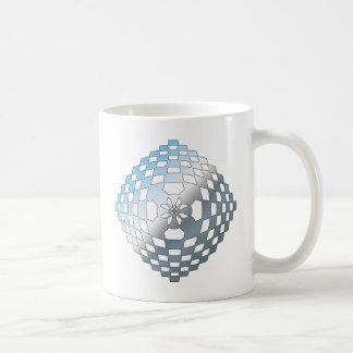 Blue Geometric Shape Mugs