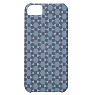 Blue Geometric Tiled Tessellation Pattern iPhone 5C Cover