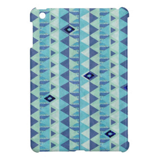 Blue Geometry Pattern iPad Mini  Case iPad Mini Cover