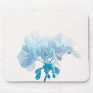 Blue Geranium Mouse Pad