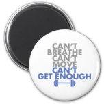 "Blue ""Get Enough"" Magnets"