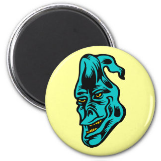 blue ghost 2 inch round magnet