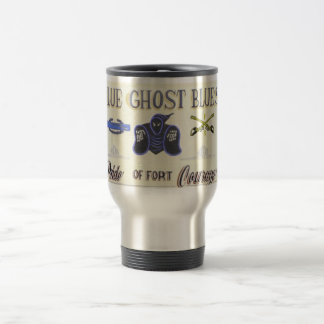 Blue Ghost Blues sign mug