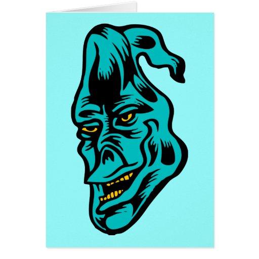 blue ghost card