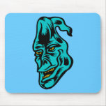 blue ghost mouse pad