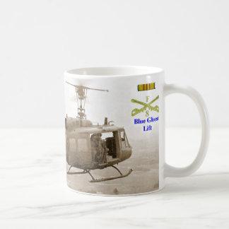 Blue Ghost Platoons - Lift Classic White Coffee Mug